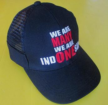 Topi Indonesia Bahan Rafel Katun