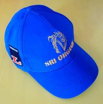 Topi Sri Organik Bahan Twill Sueding